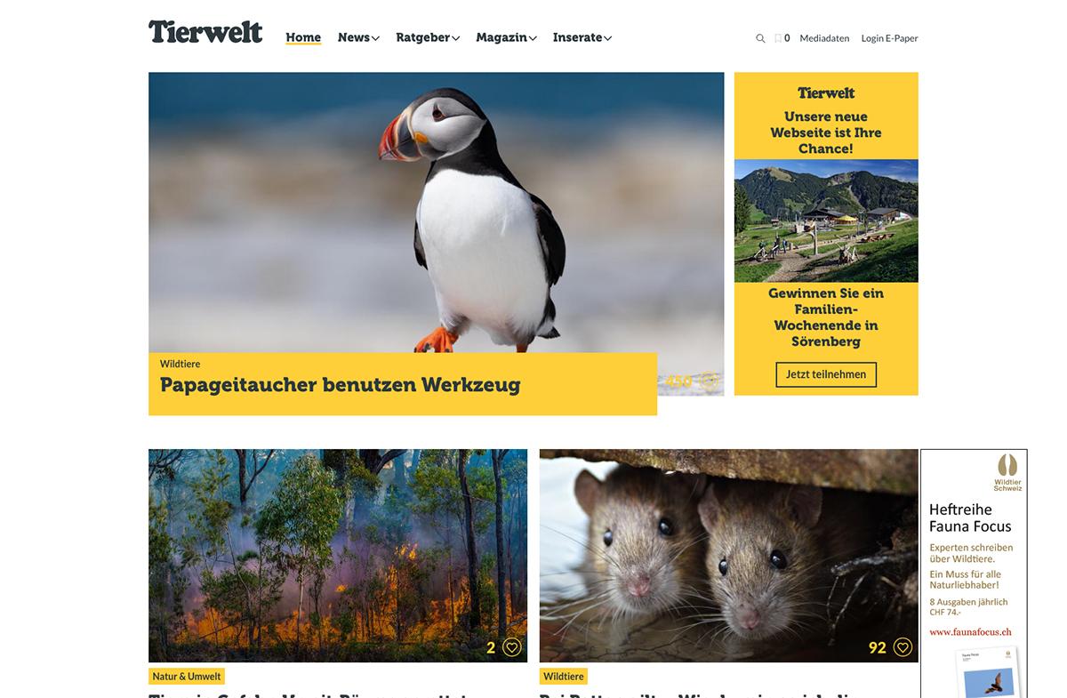 Tierwelt-Screenshot