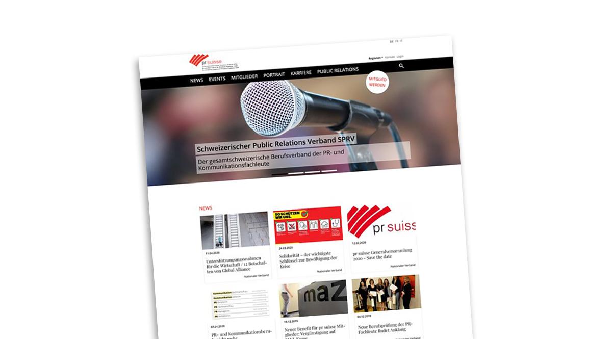 pr-suisse-Homepage