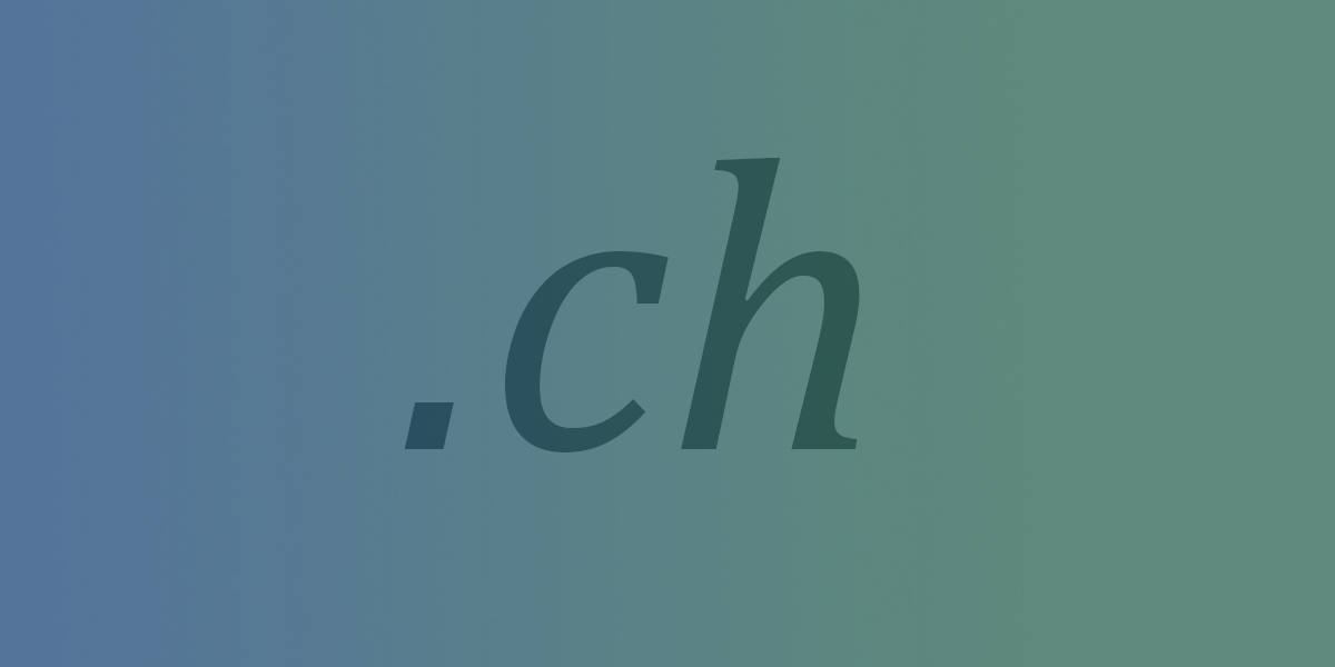 .ch-Domainverwaltung