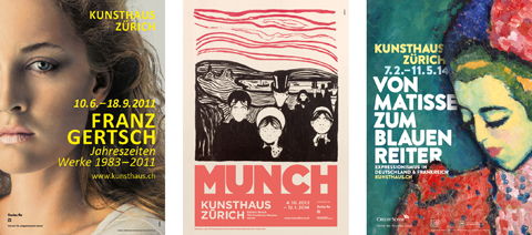 Kunsthaus-Plakate