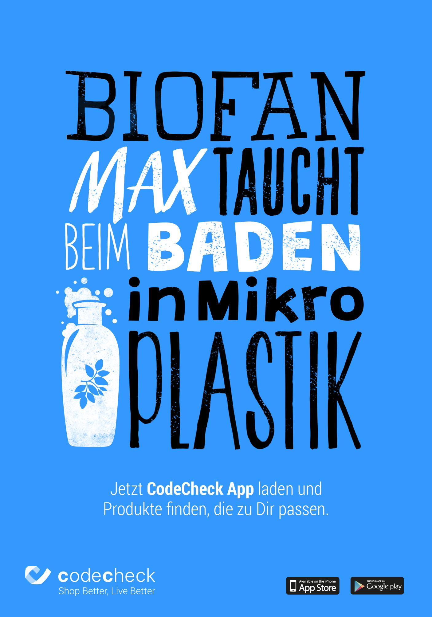 Codecheck_Plakat_Biofan
