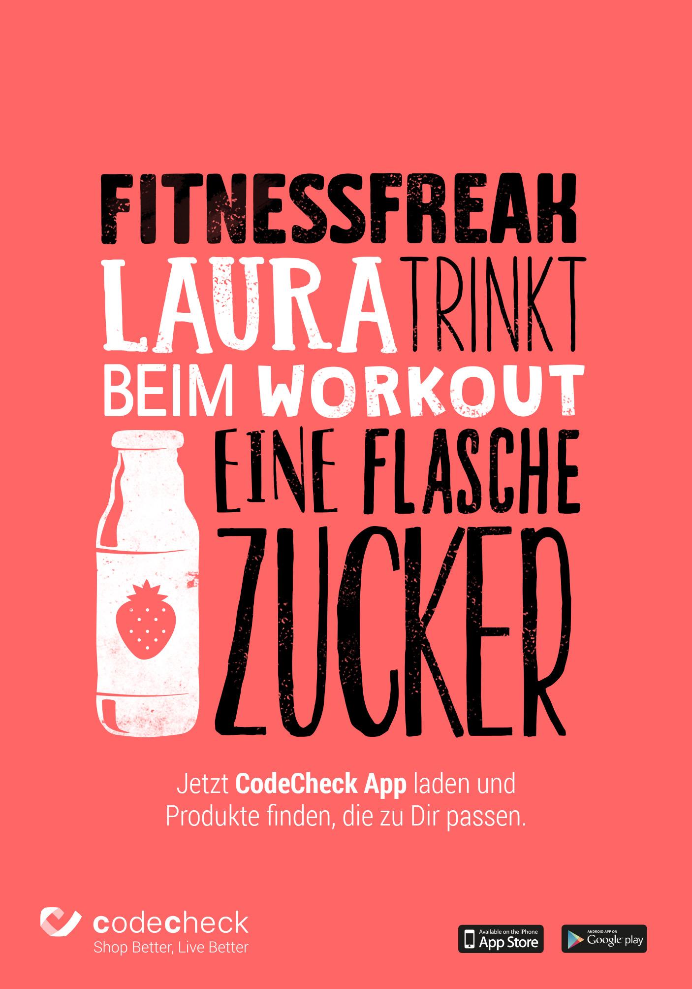 Codecheck_Plakat_Fitnessfreak