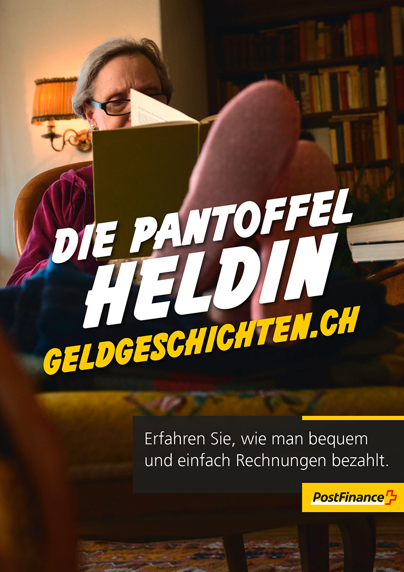 PostFinance_Anzeigen_DLA_Pantoffelheldin_Kino