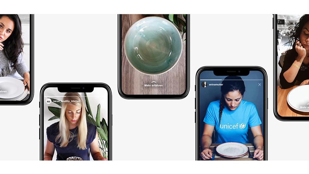 campfire-unicef-schweiz-influencer-kampagne-emptyplates-instagram-stories-casestudy-header-t